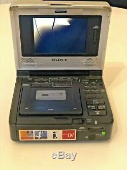 Sony Walkman Vidéo Gv-1000 Magnétoscope Numérique DV / Mini DV Pal Enregistreur / Lecteur De Batterie
