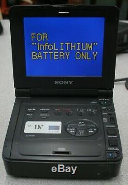 Sony Walkman Vidéo Gv-d900 Ntsc Digital Video Recorder Cassette Minidv Mini DV
