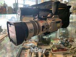 Sony (dcr-vx2000e) Caméscope Numérique En Argent Made In Japan