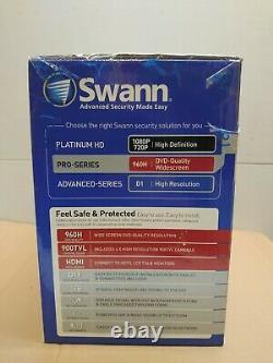 Swann 960h Sécurité Professionnelle 8 Channel Enregistreur Vidéo Numérique 4 X Caméras