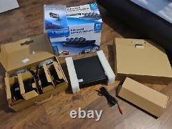 Swann Cctv Kit 9 Channel D1 Digital Video Recorder & 4 X Caméras Pro-535 Inutilisées