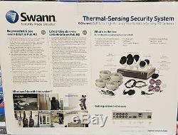 Swann Dvk-4580 1080p Network Video Recorder + 6 X Caméra Thermique Sensing 1tb
