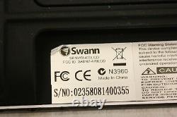 Swann Dvr44400t 720p Hd 4 Channel Digital Video Recorder & Srnvw-470lcd & 4 Cams