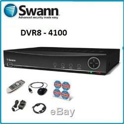 Swann Dvr8-4100 8 Canaux Cctv Dvr Hd 1tb Enregistreur Vidéo Numérique Système De Sécurité