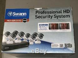 Swann Dvr8-4500 Enregistreur Vidéo Numérique 1080p 8 Canaux Avec 8 Caméras Pro-t855