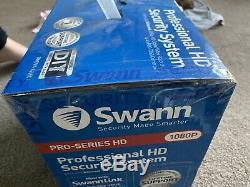 Swann Dvr8-4550 8 Digital Video Hd Channel Enregistreur Et 4 X Caméras