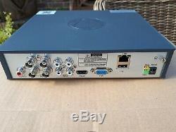 Swann Dvr8-4575 4 Canaux Enregistreur Vidéo Numérique Avec 2 X Pro-t852 & 2 X Pro-t85