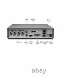 Swann Dvr8 4600 8 Channel Hd Digital Video Recorder Dvr 1 To Hdd Cctv Hdmi Vga