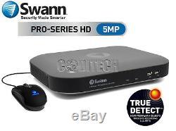Swann Dvr8-4980 Enregistreur Vidéo Numérique (cctv) À 8 Canaux Et 5,0 Mégapixels De 2 To