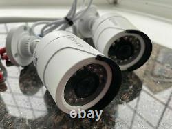 Swann Dvr-4550 4 Canal 1080p Enregistreur Vidéo Numérique Dvr Cctv + 2 Caméras