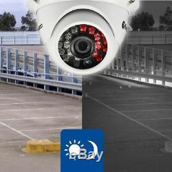 Swann Dvr 4550 4 Canaux Hd Enregistreur Vidéo Numérique 2tb Pro-t854 Dôme Caméra Cctv