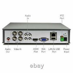 Swann Dvr 4580 4 8 Canal 1080p Hd Digital Video Recorder Cctv Bnc Hdmi Vga
