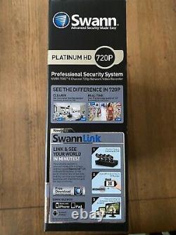 Swann Nvr8-7082 8 Canaux De Nvr Enregistreur Vidéo Réseau De Sécurité Platinum Hd