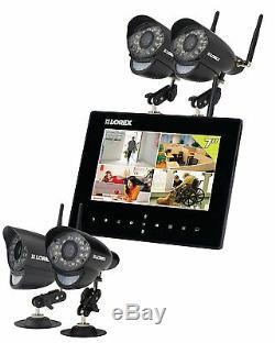 Système D'enregistrement Et De Surveillance Vidéo Sans Fil Lorax Live, 4 Caméras, Sd Digital