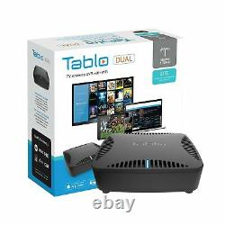 Tablo Tdns2b01cn Dual Lite Digital Video Recorder Wifi Live Tv Streaming Noir