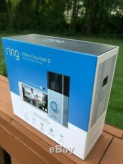 Tout Neuf! Video Ring 2 Sonnette Wire-free Video Sonnette Avec 1 An De Garantie