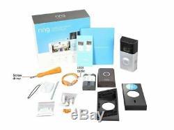 Tout Neuf! Video Ring Sonnette 2 Video Wire-gratuit Sonnette + Anneau Chime Bundle