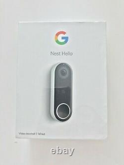 Tout Nouveau Google Nest Bonjour Intelligent Sonnette Nc5100gb # 4