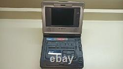 Ultra Rare Sony Gv-d800 Digital8, Hi8, Video8 Kit De Numérisation Vcr Walkman