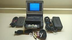 Ultra Rare Sony Gv-d800e Digital8, Hi8, Video8 Video Walkman Vcr Pour La Numérisation