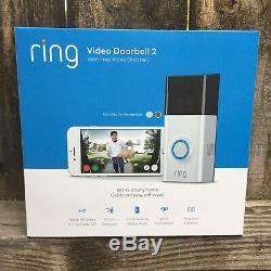 Video Ring 2 Sonnette Cam Sécurité