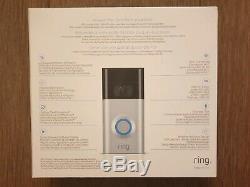 Video Ring 2 Sonnette Vidéo Hd 1080p, Deux Voies Talk, Détection De Mouvement, Wi-fi