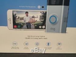 Video Ring Sonnette 2 Fils Gratuit 1080 Hd Two Way Parler De Détection De Mouvement Wi-fi II