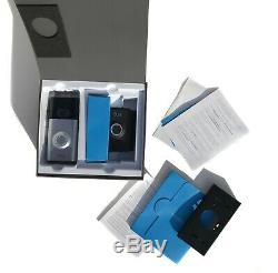 Video Ring Sonnette 2 Hd Wi-fi Sans Fil Vidéo, Activé Par Le Mouvement Alertes