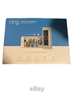 Video Ring Sonnette Pro (8vr1p6-0en0) Satin Nickel