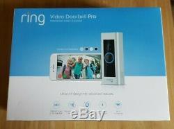 Video Ring Sonnette Pro Avec La Vidéo Hd, Des Alertes Avec Détecteur De Mouvement, Easy Install