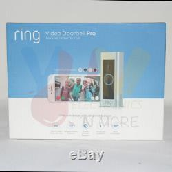 Video Ring Sonnette Pro Avec Vidéo Hd Activé Par Le Mouvement Alertes Installation Facile