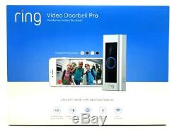 Video Ring Sonnette Pro Hd Vidéo Avec Deux Voies Parle Vision Nocturne Infrarouge