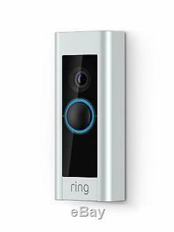 Video Ring Sonnette Pro Intelligent Sonnette Brand New. Scellé En Usine