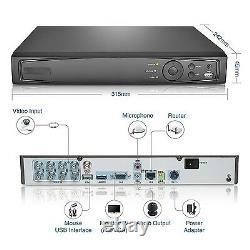 Vidéosurveillance 8channel Hd 1080p Enregistreur Vidéo Super Nvr Ahd Tvi CVI Dvr 5-en-1