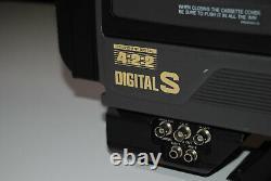 Vintage Jvc Br-d40u Digital S 422 Enregistreur Avec Objectif Caméra Vidéo Camcorder D9