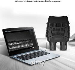 Vision De Nuit Hd Jumelles Infrarouges Numériques Chasse Avec Écran LCD Enregistrement Vidéo