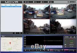 Vision Eye Hd 1080p 4 Caméra Wifi Gps Dvr Voiture Taxi Véhicule Sd Dvr Enregistreur Vidéo