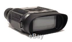 Vision Nocturne Infrarouge Jumelles Avec Écran LCD Numérique D'enregistrement Vidéo