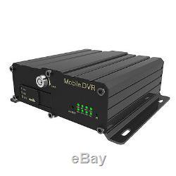 Voiture Mobile De Magnétoscope De Digital De Voiture De Véhicule De La Pleine Voiture Dvr 720p De Hd De 4ch Semi Dvr