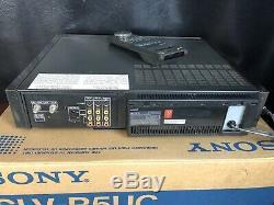 Vtg Sony Slv-r5uc S-vhs Salut-fi Stéréo Enregistreur Cassette Vidéo Numérique Pic A001