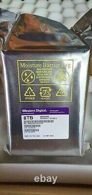 Western Digital (8 To, 256 Mo, Sata, 3.5, 7200rpm) Internal Hard Drive Purple