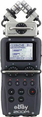 Zoom H5 4-track Portable Recorder Pour L'audio Pour La Vidéo, La Musique Et La Baladodiffusion