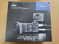Zoom Q8 Handy Video Recorder, 3mp, Zoom Numérique, 2304x1296 Vidéo À 30 Images Par Seconde