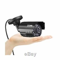 Zosi 8 Canaux Hd-tvi 1080n / 720p Enregistreur Système De Sécurité Vidéo Dvr Avec 4 X H